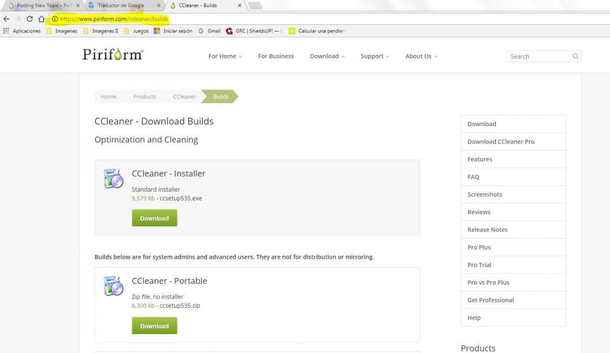 ccleaner piriform download