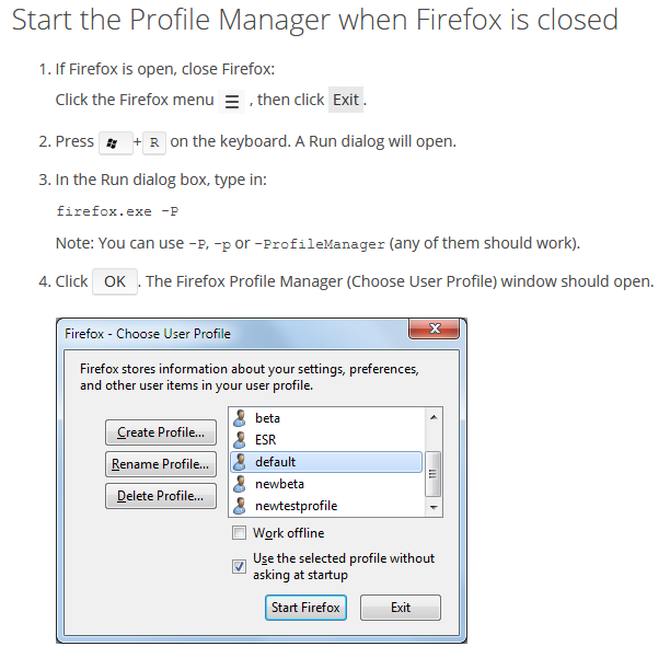 Issue with Firefox - it won't display after CCleaner