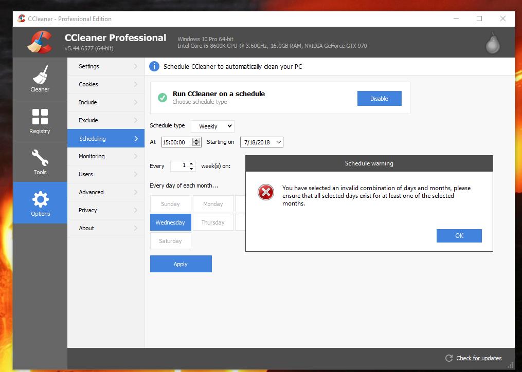 ccleaner para windows 10 64 bits