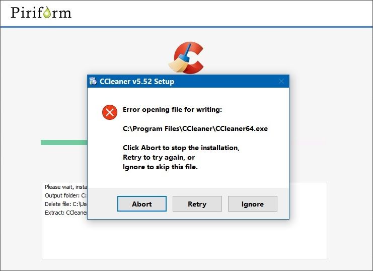 Solution] When CCleaner won't install or download (Windows
