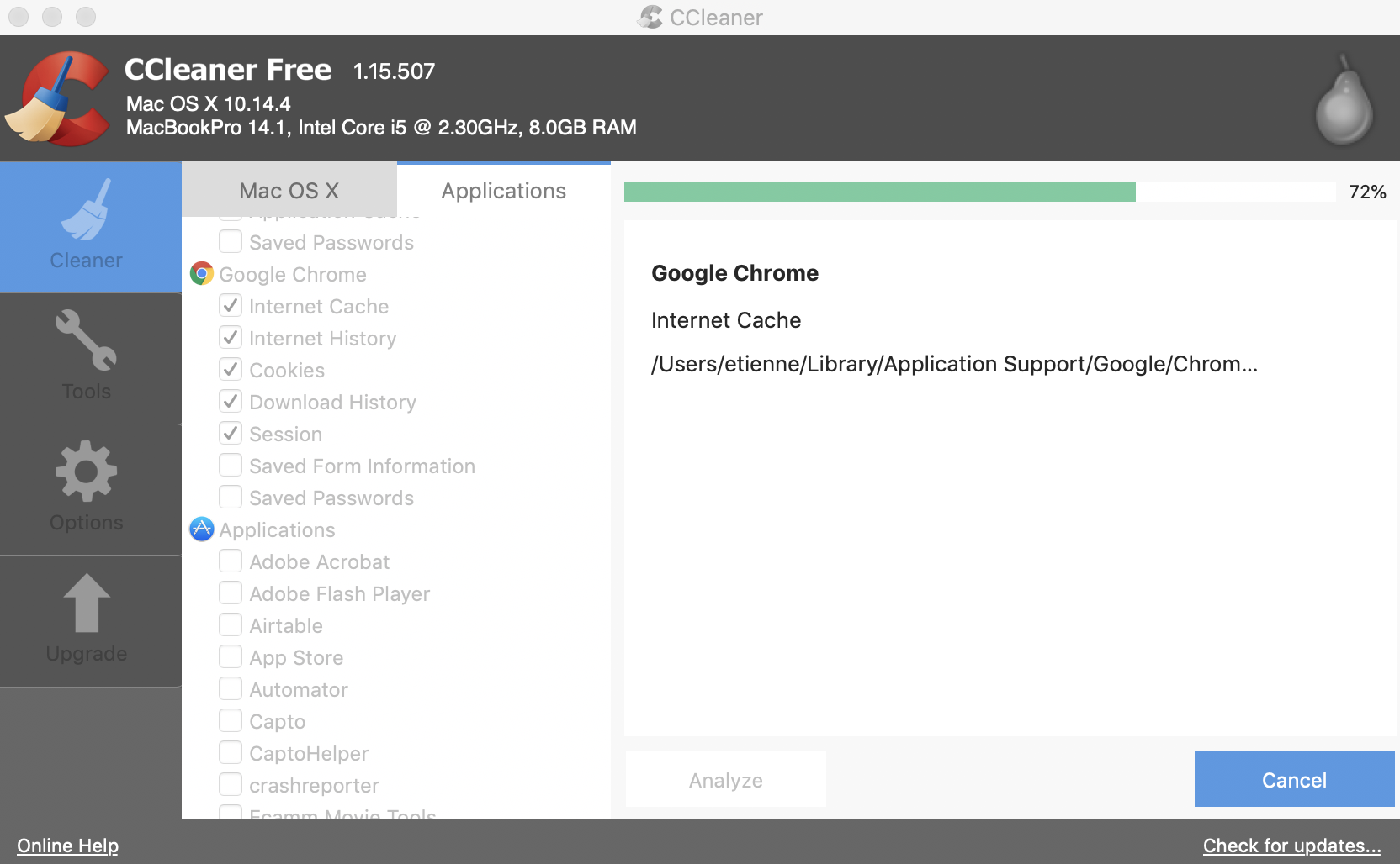 Free download ccleaner for mac os x