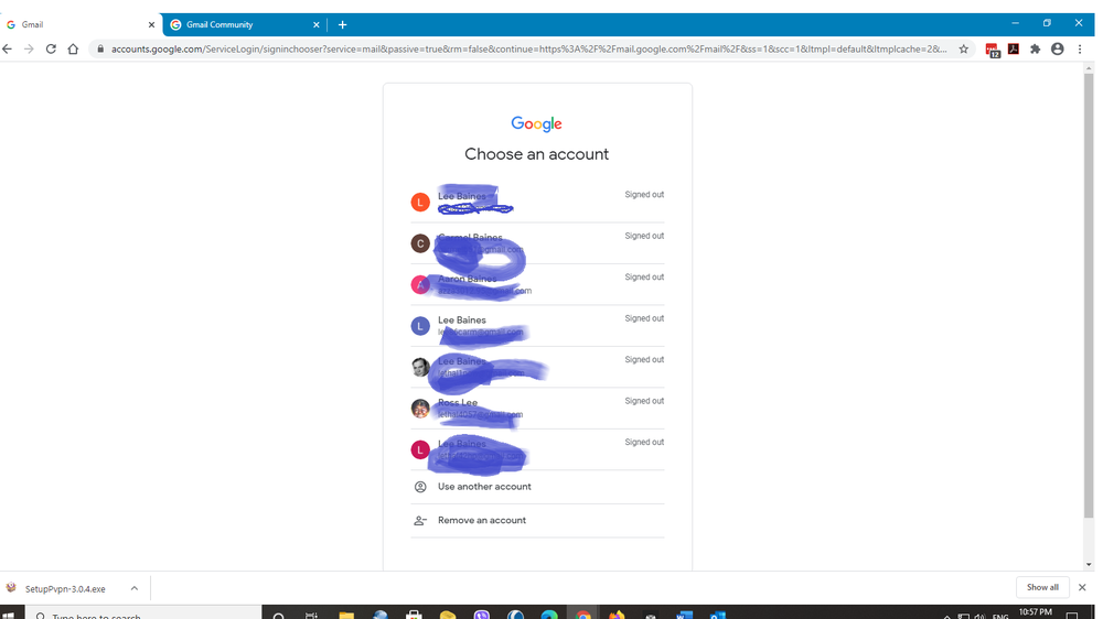 google account list.png