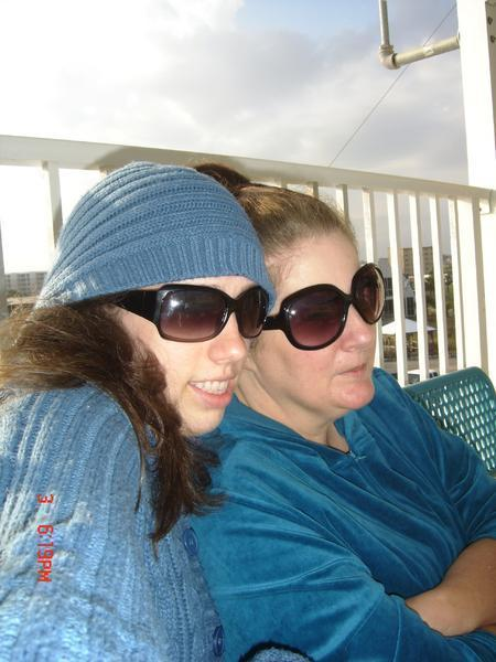 Me and my daughter Carrie in Floridia