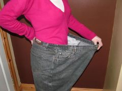 big trousers little waist ! UK size 30-32 trousers and I am a UK size 10 now