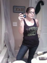 full body shot... hiding my flabby arms