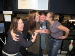 January 17 2o1o ~ My 23rd birthday~ Being silly with a few old friends from high school~Down 90 pounds at 207 pounds!