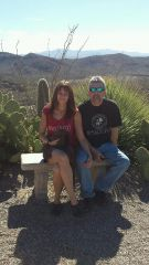 Me & My Hunny in AZ Jan 2014
