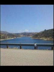 Top Of The Ramona Dam
