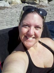 Enjoying the California Sun at the Beach.