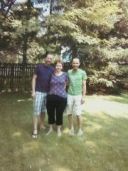 May 2012 with My boys