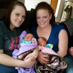 Me and the Twins!