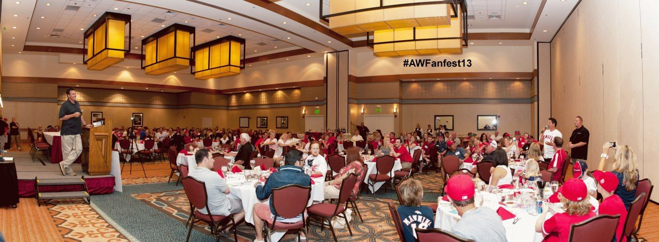 Tim Salmon speaks at our #AWFanfest13