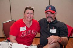 Husband and Wife having a great time at our Spring Fanfest Event