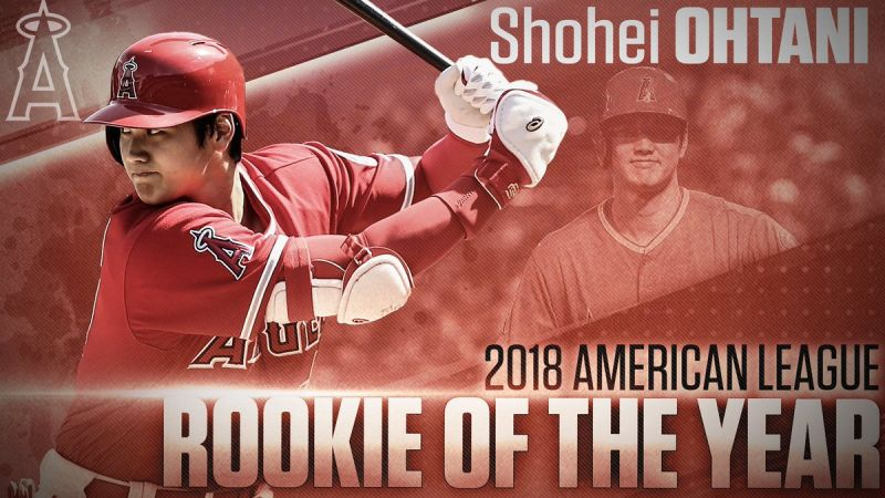 AngelsWin.com Today: #21 - November 12, 2018: Two-Way Sensation Shohei Ohtani Named 2018 AL Rookie of the Year Award