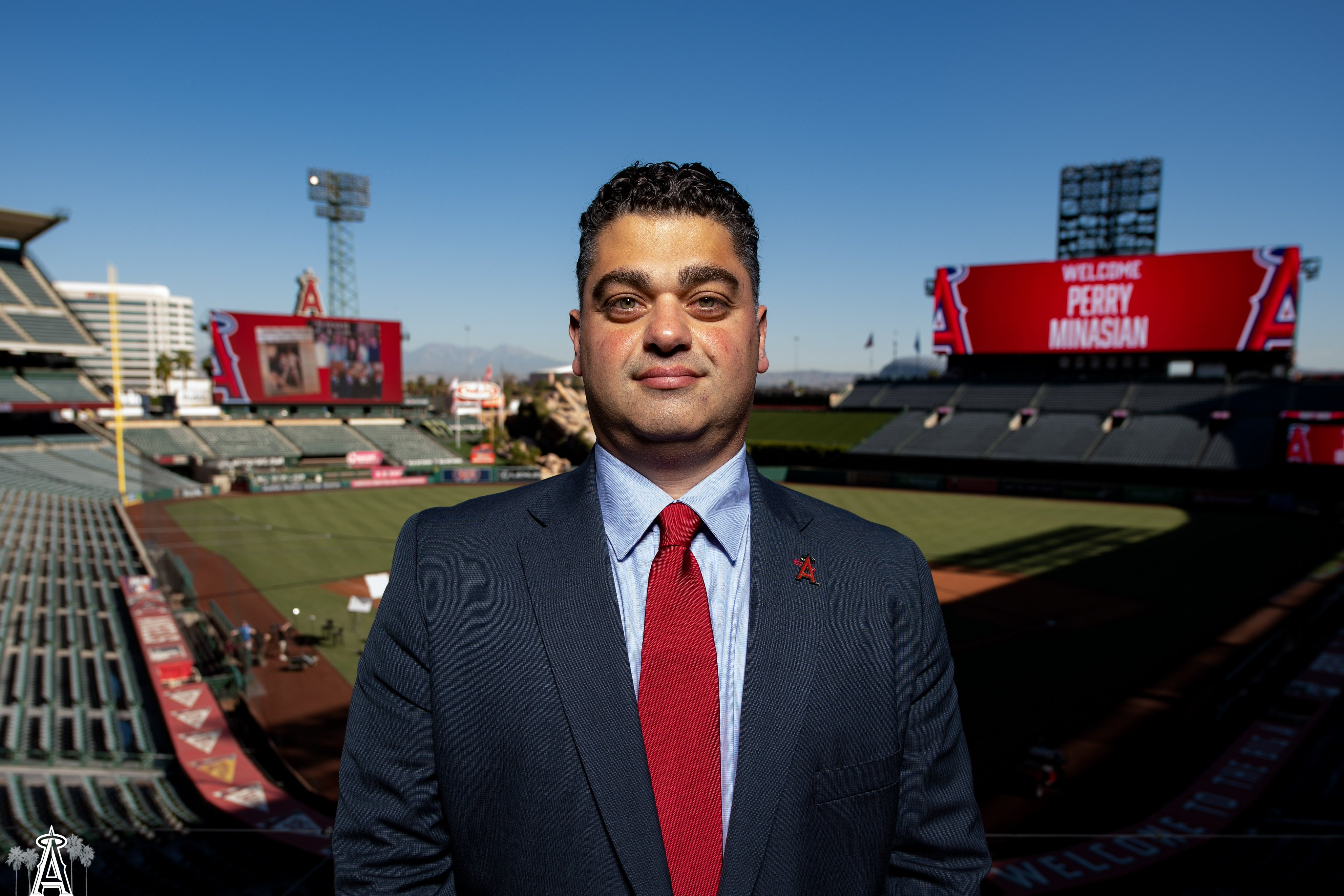 Full interview with Angels GM Perry Minasian!