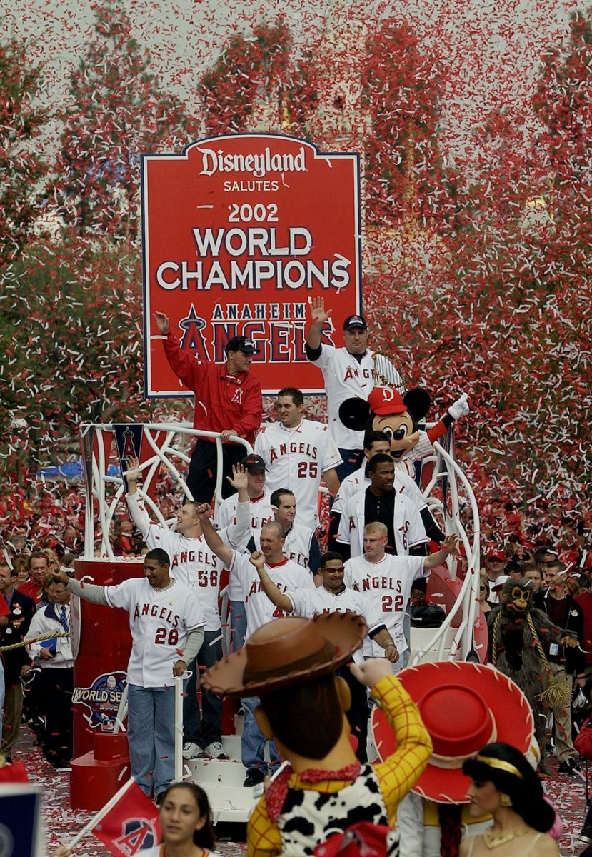 The Anaheim Angels 2002 Championship Season