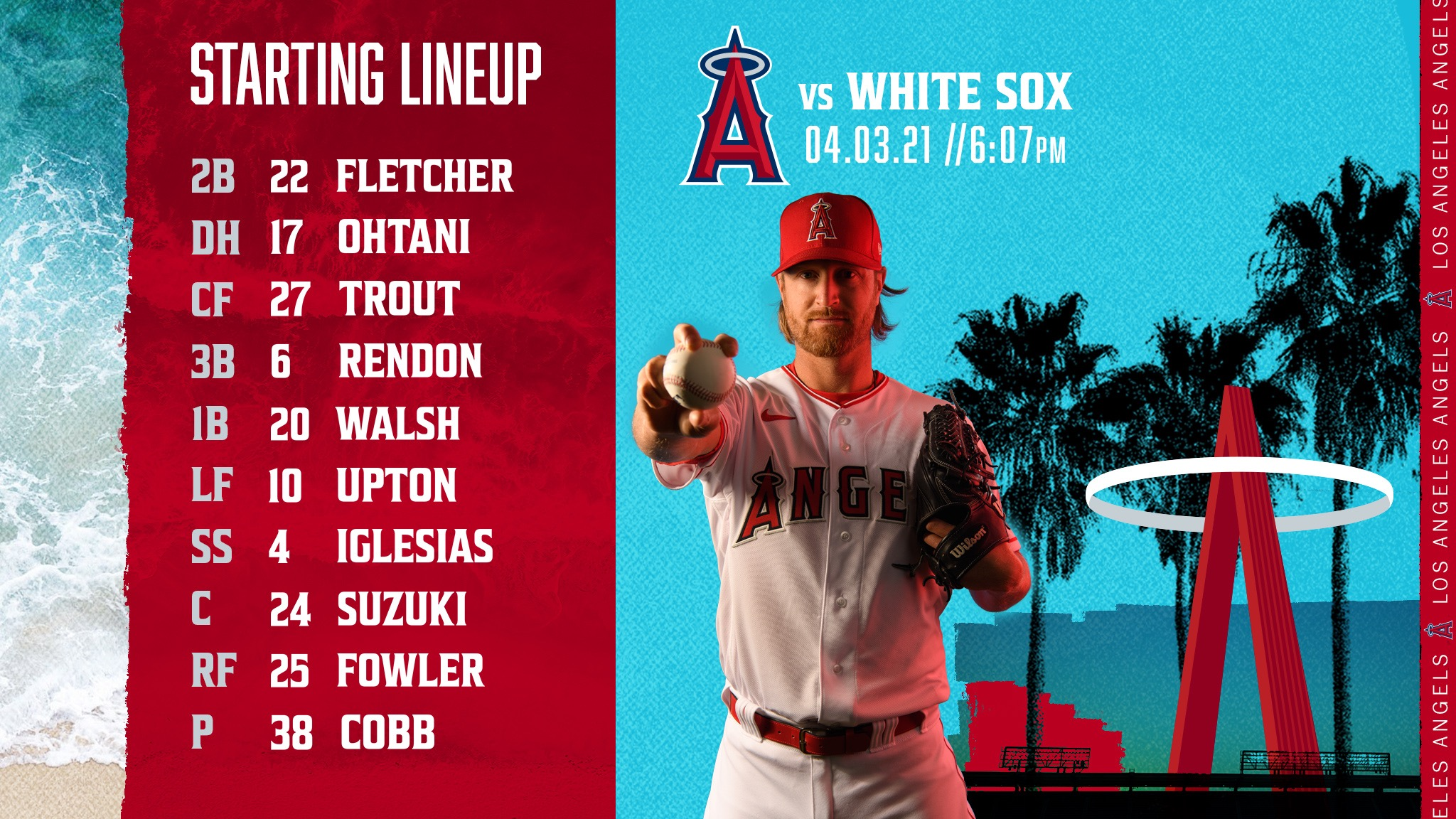 Gameday Thread: Angels vs. White Sox (4-3-2021)