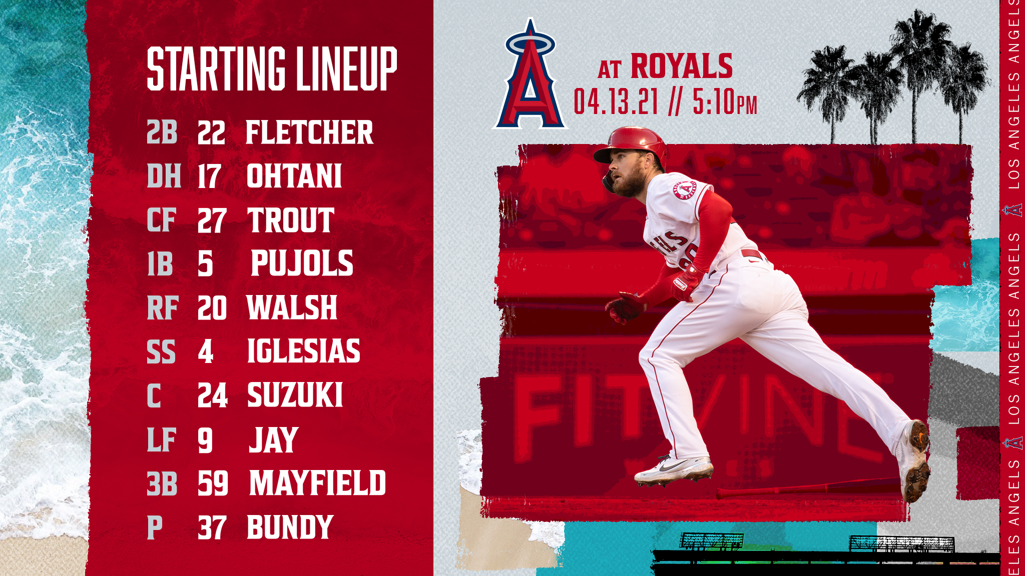 Gameday Thread: Angels vs. Royals (4-13-2021)