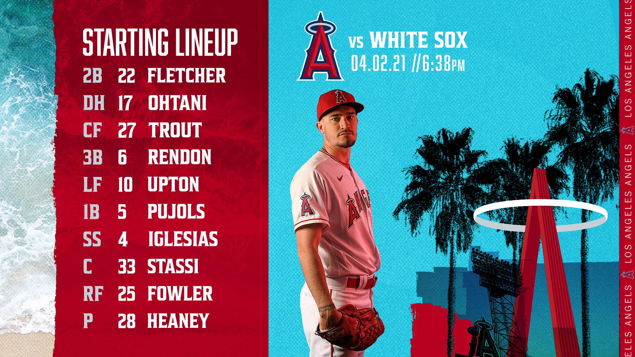 Gameday Thread: Angels vs. White Sox (4-2-2021)