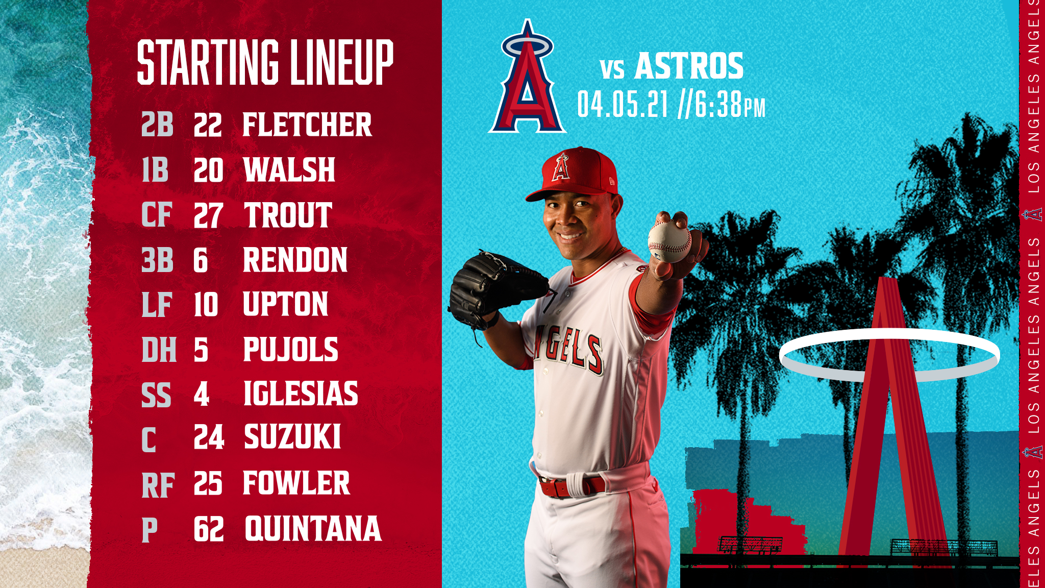 Gameday Thread: Angels vs. Astros (4-5-2021)