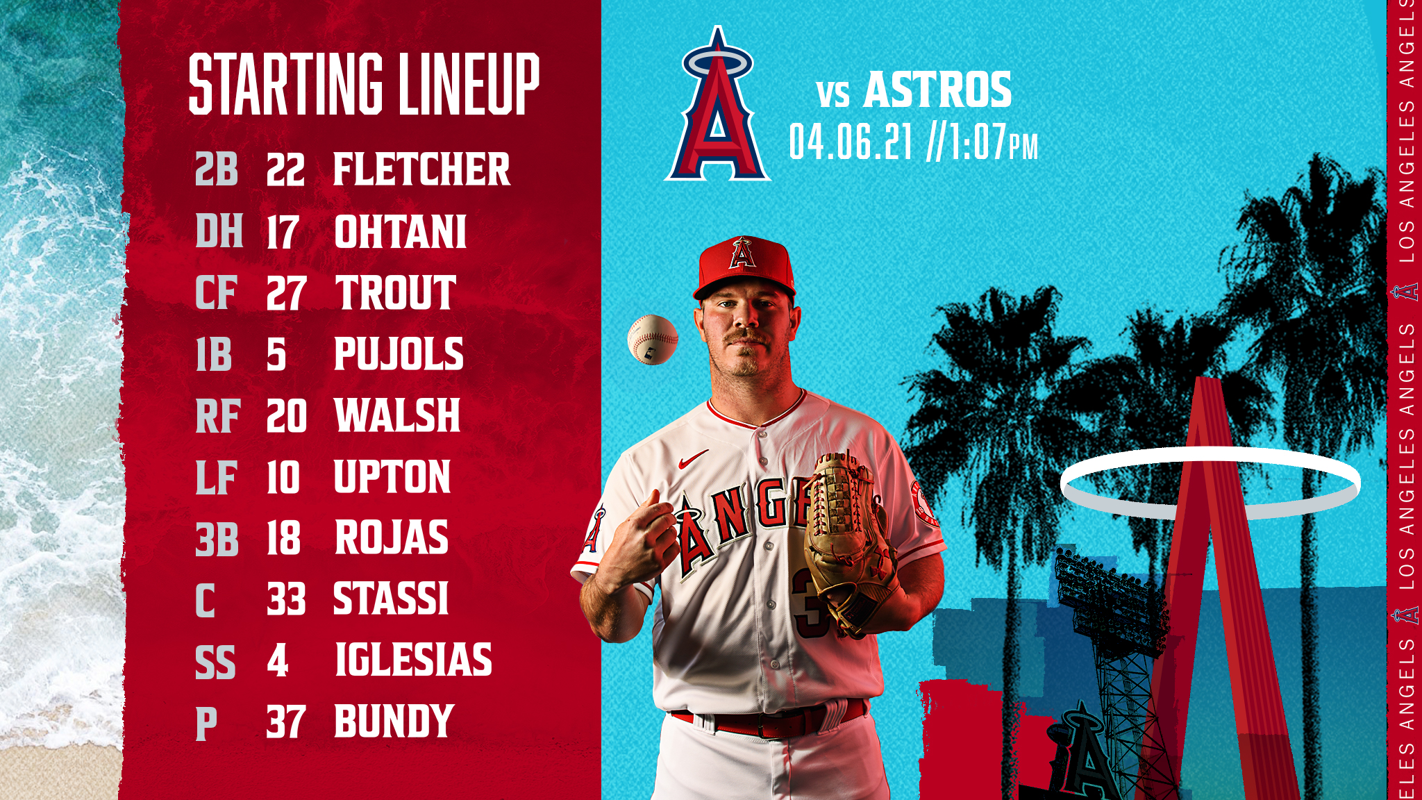 Gameday Thread: Angels vs. Astros (4-6-2021) Rojas starting at 3B - Walsh in RF