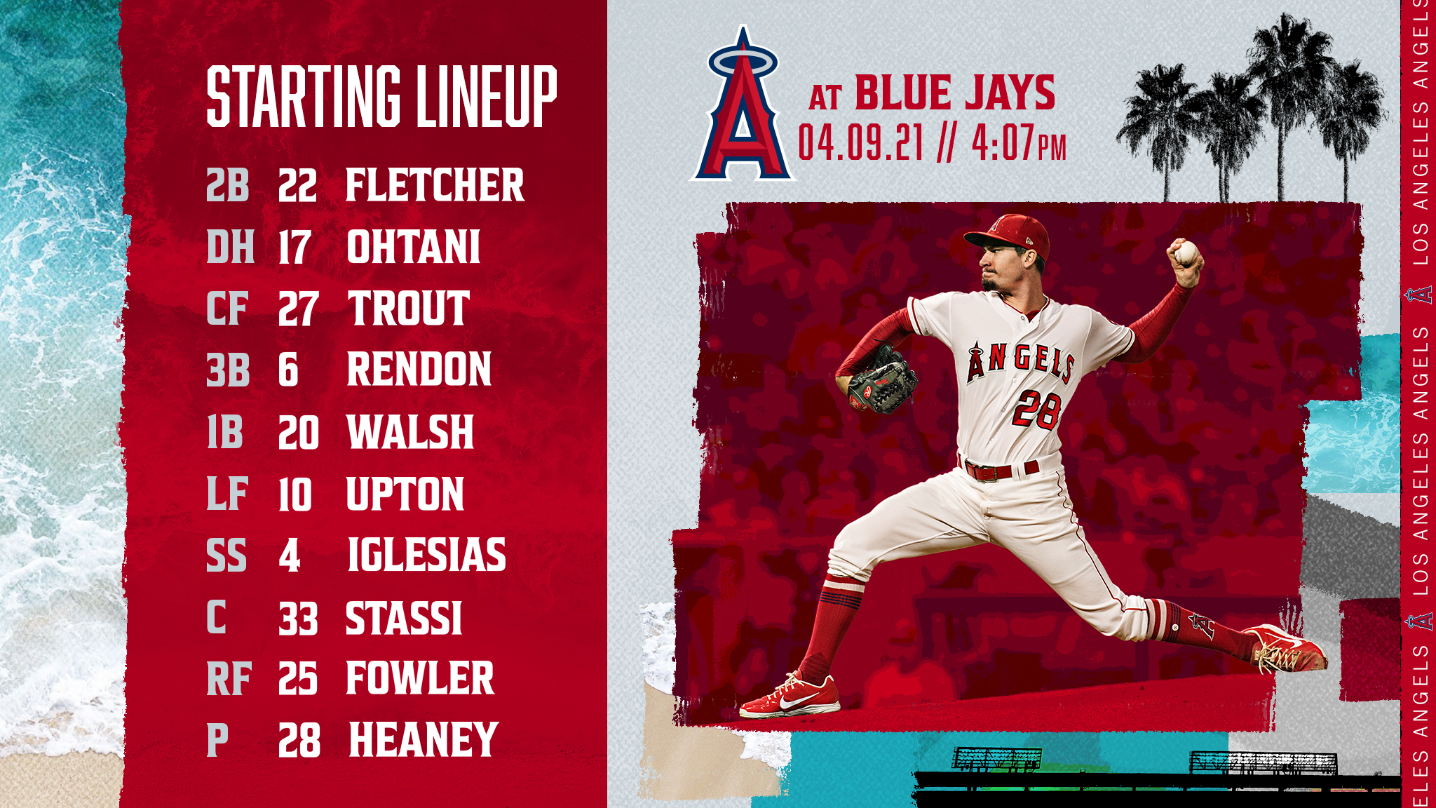 Gameday Thread: Angels vs. Blue Jays (4-9-2021)