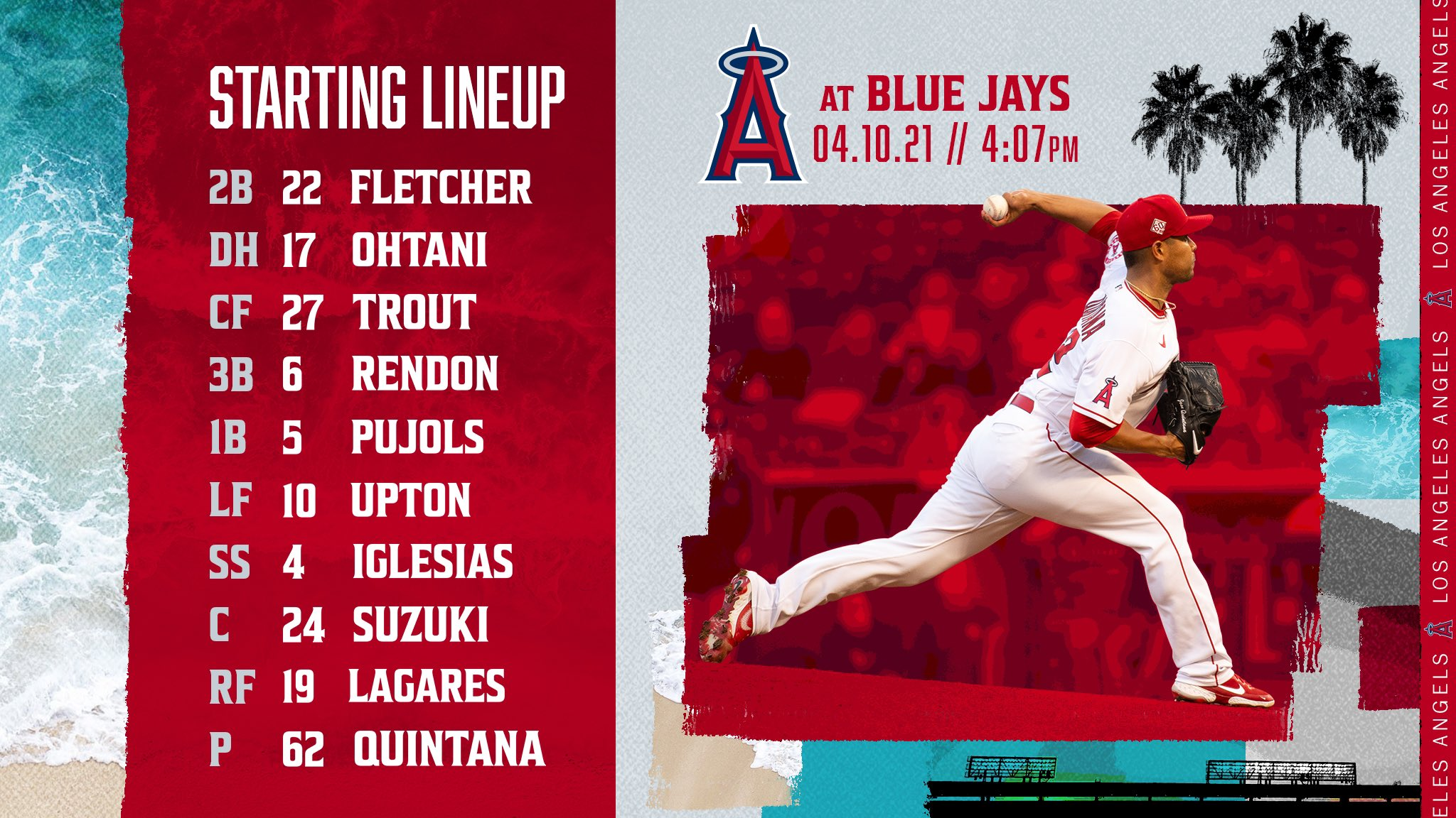 Gameday Thread: Angels vs. Blue Jays (4-10-2021)