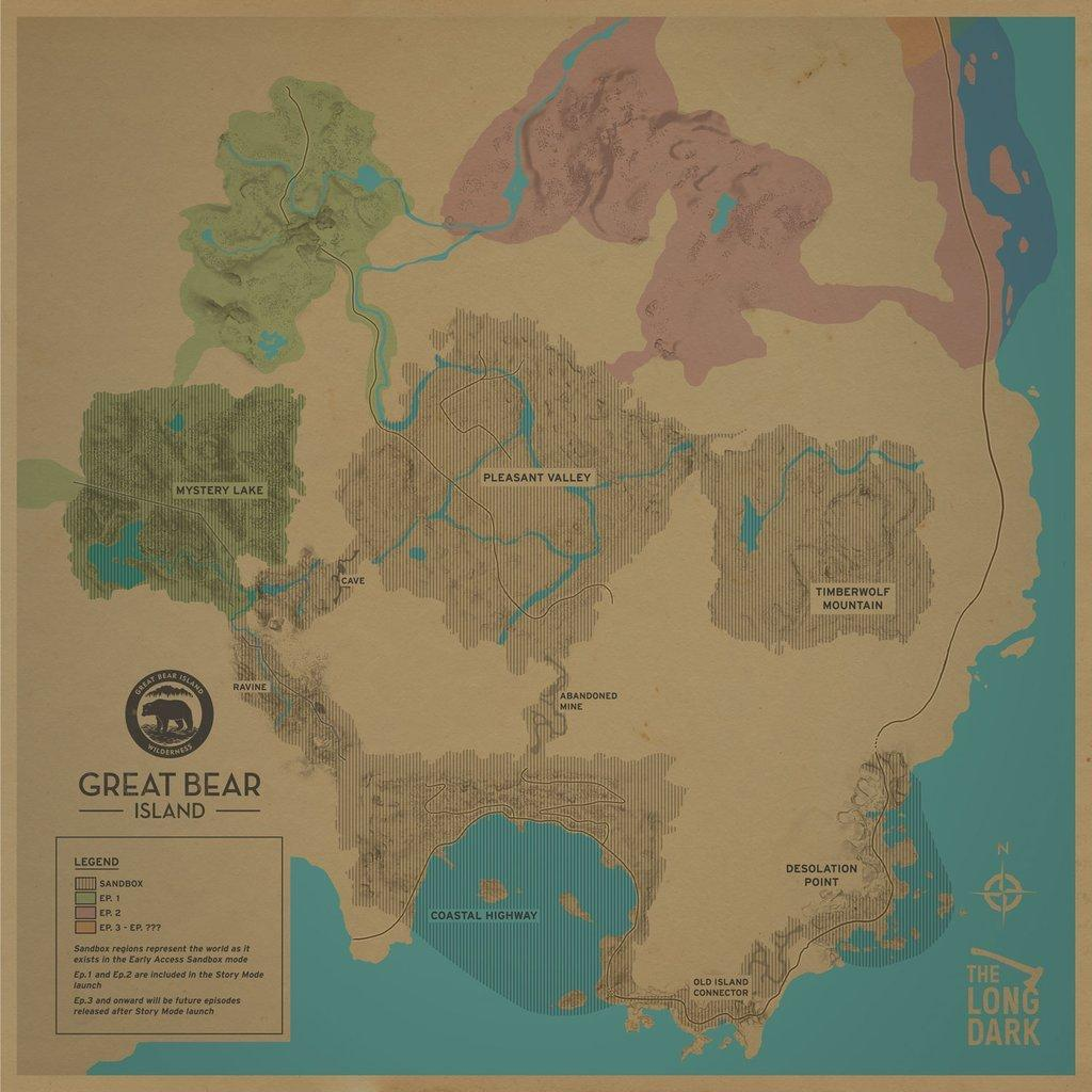 New Great Bear Island Map  General Discussion  Hinterland Forums