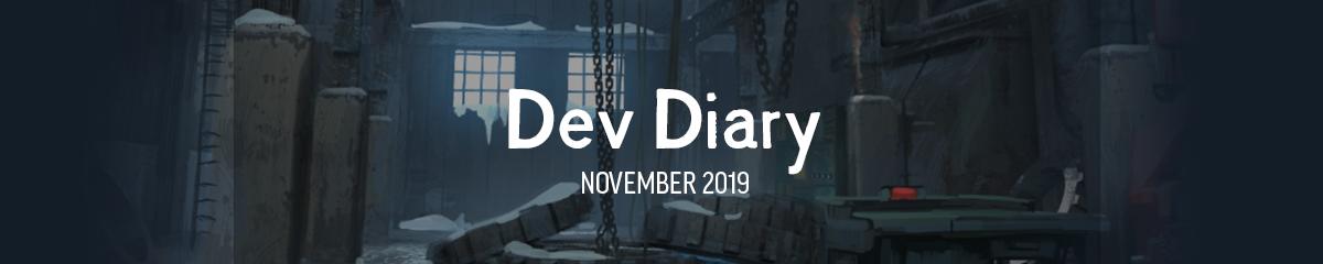 Hinterland Dev Diary October 2019