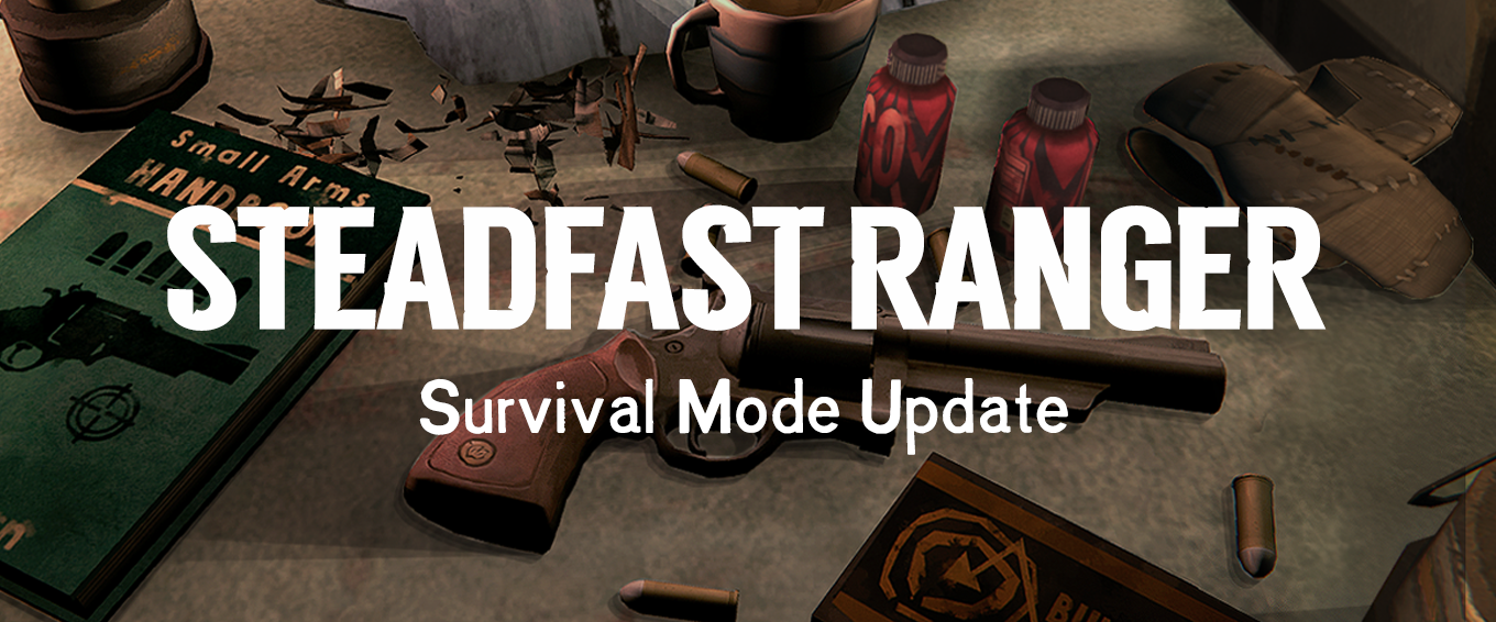 Button to The Long Dark Steadfast Ranger Survival Mode Update