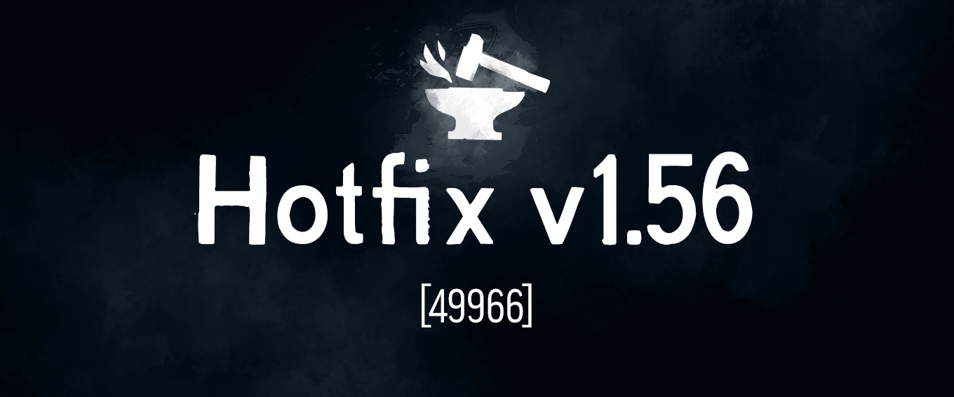 Button to The Long Dark Hotfix v1.56