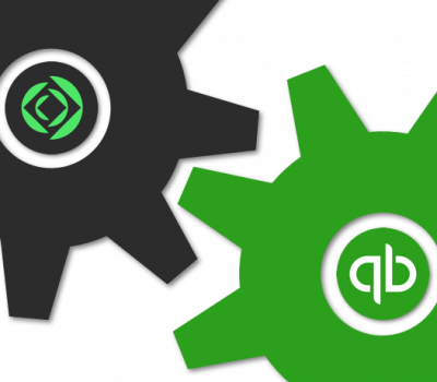 Claris Connect and QuickBooks Online Logos