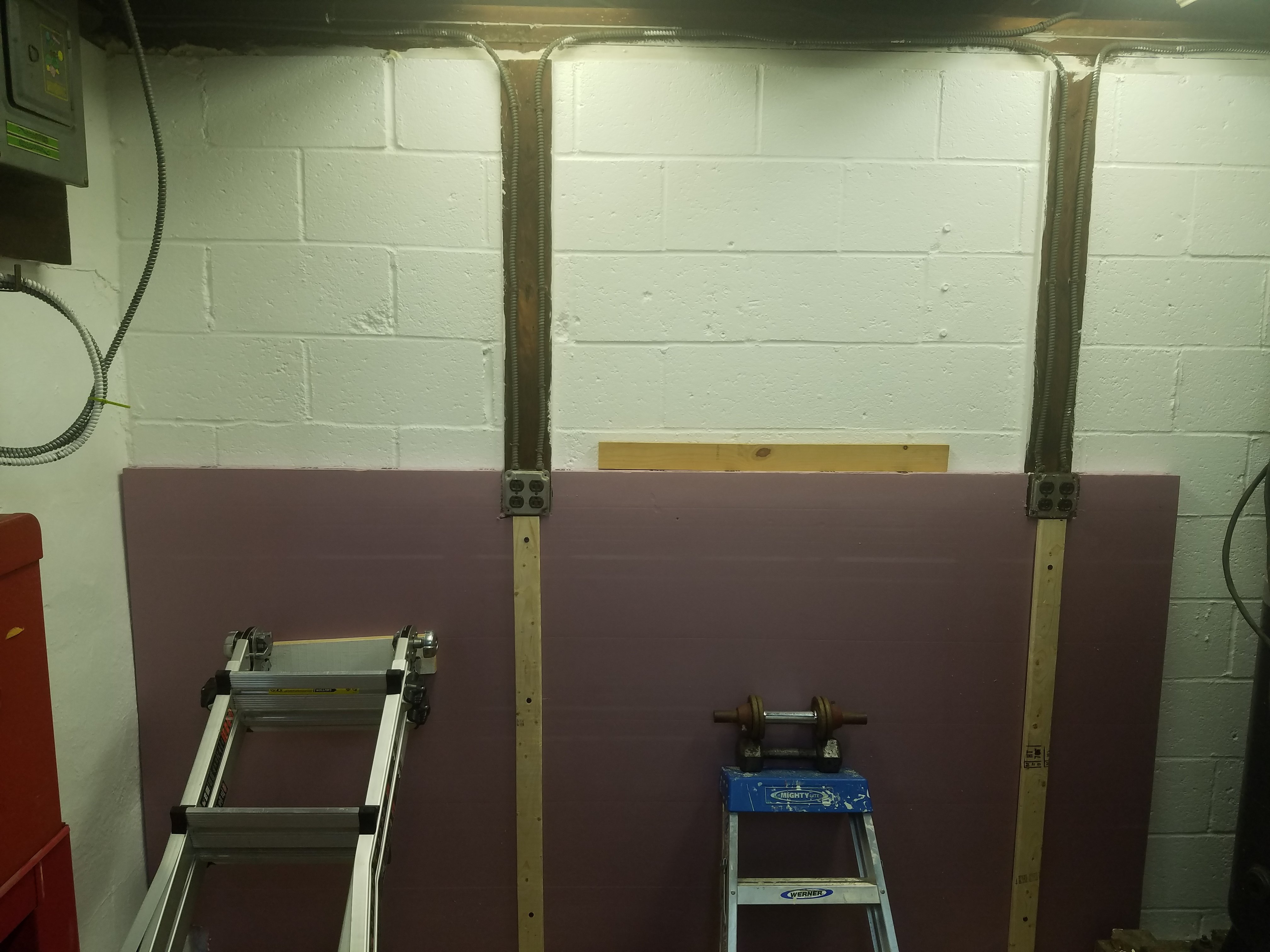 Insulating the Shop Walls
