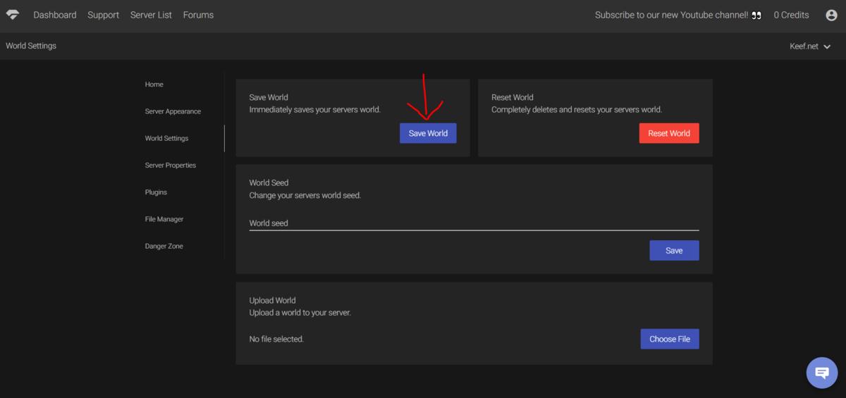 Minehut world file download location?? - Community Support - Minehut