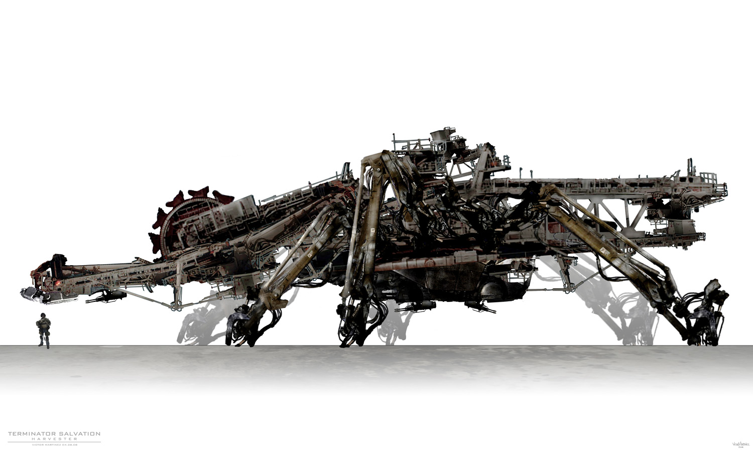 Terminator Salvation - Harvester