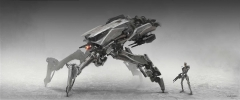 Terminator Genisys - Spider Tanks Concepts