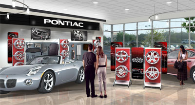 Car Dealership Interior