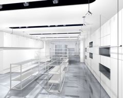 Fashion brand Jayro White's flagship store concept image