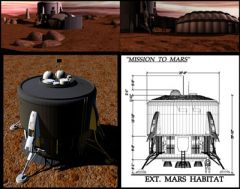 Mission to Mars set design