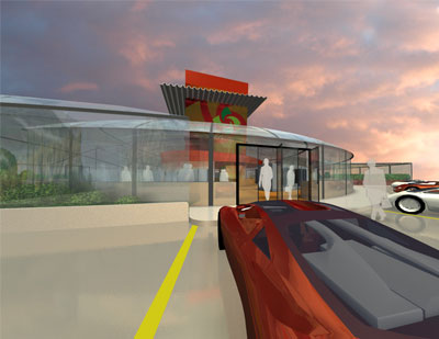 Filling Station/Store of the future