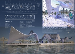 New York aquarium plans And view copy