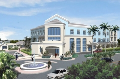 Proposed new head office for Barbados Water Authority.