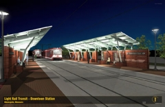Light Rail Transit-Veterans Affairs Station