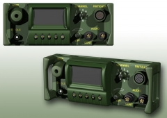 VHF-FM Tactical radio - Cast aluminum