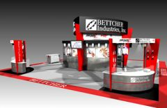 Exhibit design for Bettcher Industries, Inc. design by Adam Engle