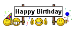 happy bday withbanner