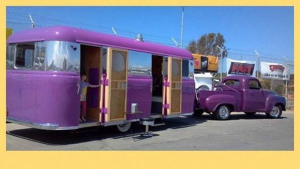 1949 Studebaker Pickup with Purple Trailer to Match.jpg