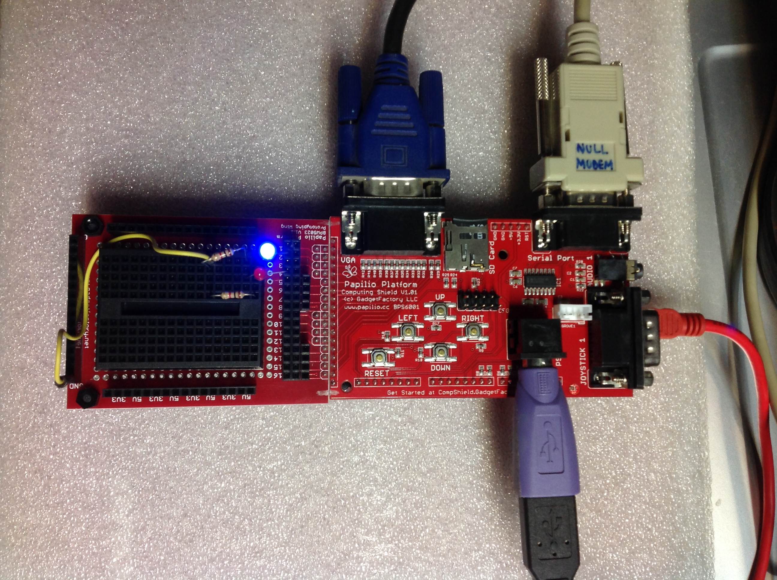 MULTICOMP Z80 CP/M migrated to the Papilio Duo Platform