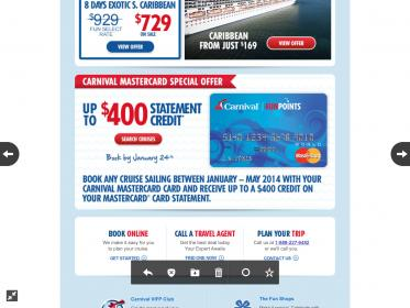 Carnival Mastercard Offer? - Carnival Cruise Lines - Cruise Critic