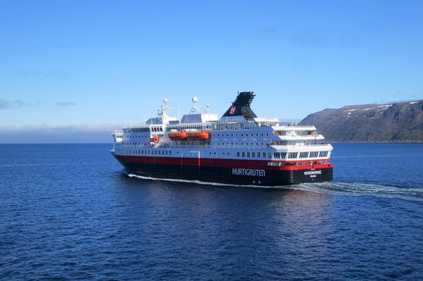 Hurtigruten ship